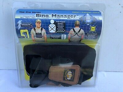 NEW IPI Pro Series Bino Manager Body Hugging Harness System for Binocular Black