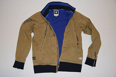 G-STAR RAW MENS Brown MILITARY JACKET size M