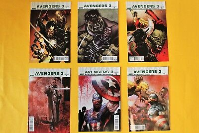 Ultimate Avengers 3- complete 6 issue limited series