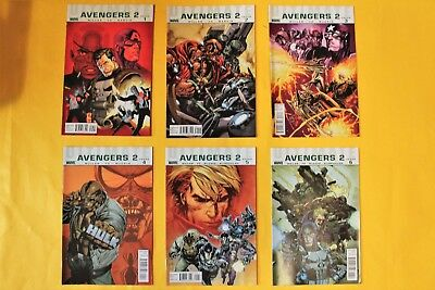 Ultimate Avengers 2- complete 6 issue limited series