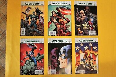 Ultimate Avengers- complete 6 issue limited series