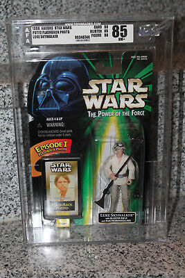Star Wars POTF2 Luke Skywalker Afa 85 - Kenner