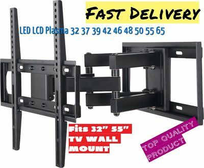 Full Motion Articulating TV Wall Mount LED LCD Plasma 32 37 39 42 46 48 50 55 65