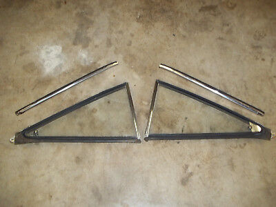 1968 1969 1970 Plymouth B Body Road Runner Coupe Rear Windows & Upper Ss Trim