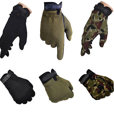 New Men Military Tactical Airsoft Shooting Hunting Full Finger Gloves 3 Size NT