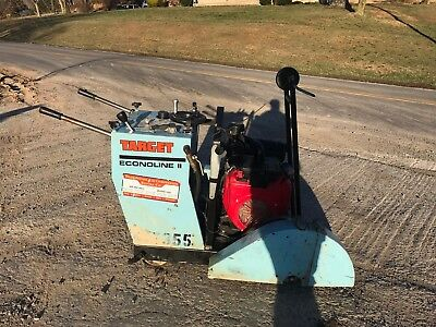 Target Econoline Ii Concrete Saw Walk Behind Deep Diamond Asphalt Masonry V Twin