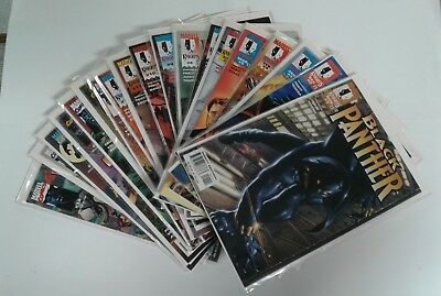 Black Panther #1-62 Complete Run! Marvel Comics 1998-2003 Marvel Knights SIGNED!