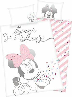 Bed Linen Herding Smooth Minnie Mouse Mouse Dream 100 x 135 cm Gift NEW WOW