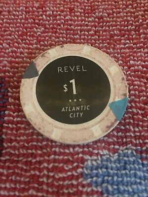 Revel Casino Atlantic City $1 Chip Poker
