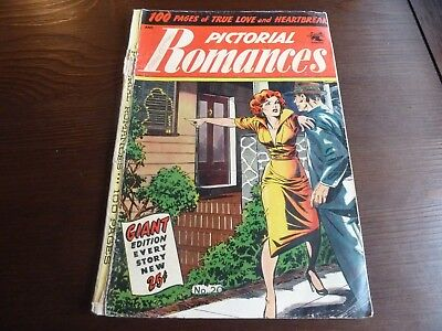 Pictorial Romances #20 with Matt Baker Cover Art AND Classic 16-page Story