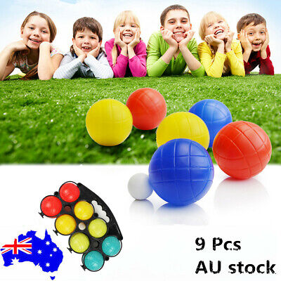 Boule Bocce 8 Ball Set Outdoor Toys Plastic Boules Jack Games