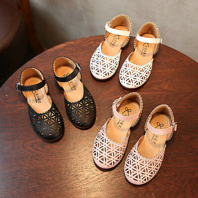 Toddler Baby Fashion Sneaker Child Girl Casual Sandals Leather Pricness Shoes