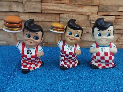 👀Bobs Big Boy Lot Of 3 Banks👀