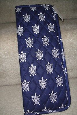 "Vera Bradley Curling & Flat Iron Cover ""sea Turtles"" Nwt! Retails For $25"