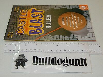 1998 Popomatic Trouble Board Game Replacement Instructions Rules