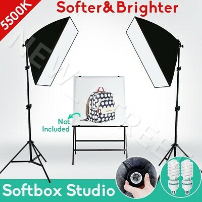 Photo Soft Box Professional Softbox Continuous Lighting Light Kit Studio Camera