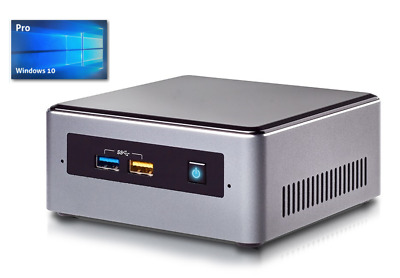 Intel Nuc Mini PC - Intel J3455 4x 1,5 GHz (2,3Turbo) - 128GB SSD - 8GB - Win10
