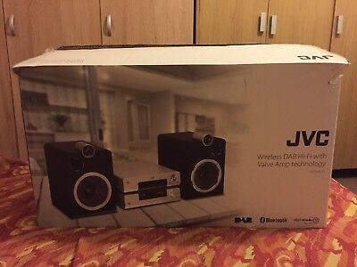 Jvc Ux-D457S 200W Hifi Stereo Valve Amp Dab Cd Wireless Bluetooth Nfc Usb
