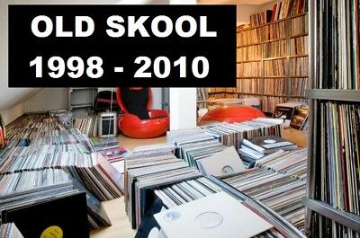 Techno, Tech House & Minimal 1998 - 2010 Vinyl Record Collection Changed to MP3