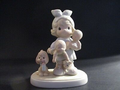 Precious Moments The Joy Of The Lord Is My Strength w/ Box 100137 Enesco 1985