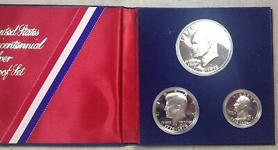 1976-S United States Proof 40% Silver Bicentennial Set