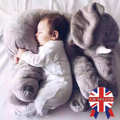 60cm Baby Child Elephant Lumbar Pillow Long Nose Doll Pillow Plush Stuff Toys