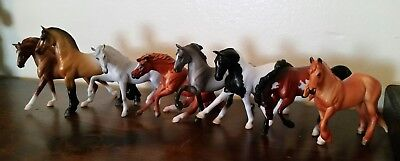 Lot of 6 - 2018 Mystery Horse Surprise Stablemates Breyer Paint Warmblood #6039