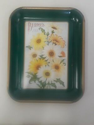 Great Vintage Burpee's 1913 Farm Annual Seeds Advertisement Tin Tray 1996 ?