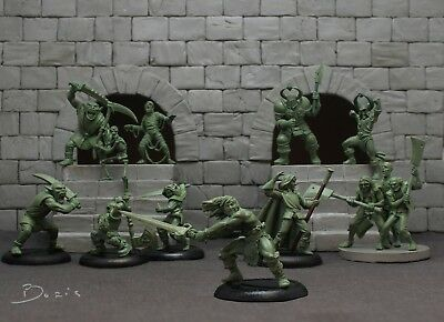 HeroQuest tribute miniatures. Very rare and strictly limited. Games Workshop MB