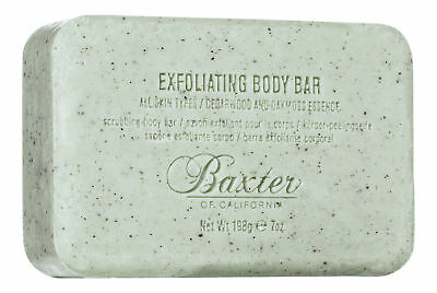 Baxter of California Exfoliating Body Bar 7 oz 19.8 g. Sealed Fresh