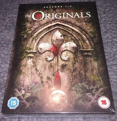 The Originals DVD Boxset The Complete Seasons 1-4 (Series)(2017) New And Sealed