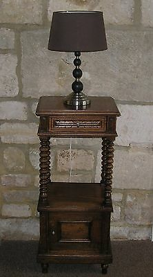 Antique Bedside Cabinet / Table / Pot Cupboard. Early C19th
