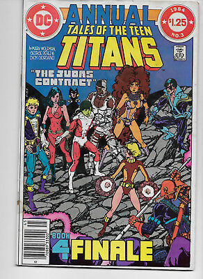 Tales Of The Teen Titans Annual 3 The Judas Contract Part 4 Poor