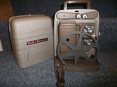 Bell & Howelll 8mm Projector 253AX - tested with film and working