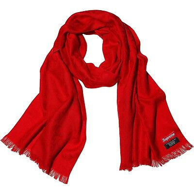 Supreme F*ck Wool Scarf Red FW17 DS