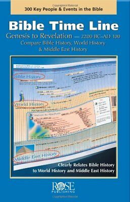 Bible Time Line: Genesis to Revelation at a Glance by Rose Publishing