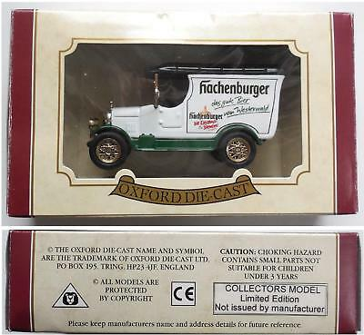 Hachenburger Oldie Ford  Oxford Die-Cast OVP  siehe OLK limitiert