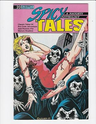 Spicy Tales A Naughty Anthology #20 - pre code reprints - Very Fine
