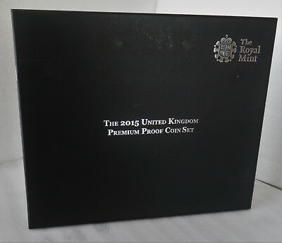 UK 2015 ROYAL MINT 13 COIN PREMIUM PROOF SET - LIMITED EDITION - complete