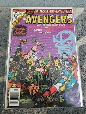 Marvel Avengers King Size Annual 7. Thanos Warlock Captain Marvel