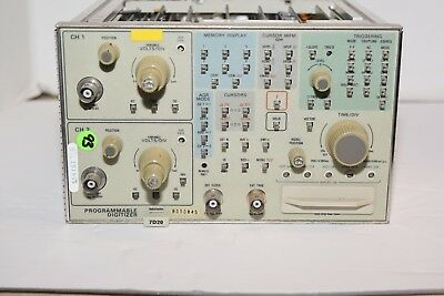 Tektronix 7D20 Programmable Plug-In Digitizer from working Oscilloscope 7834