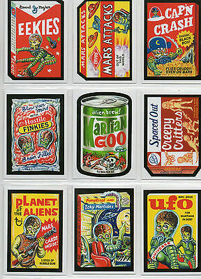 Mars Attacks! Occupation - 10 Card Attacky Packages Chase Set NM Topps 2016