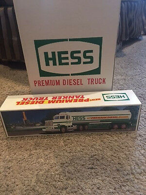 "CASE OF 6x HESS 1993 PREMIUM DIESEL TANKER Limited Edition. ""MINT"""