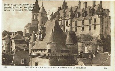 CPA -Carte postale- FRANCE-LOCHES - Son Château (iv 525)