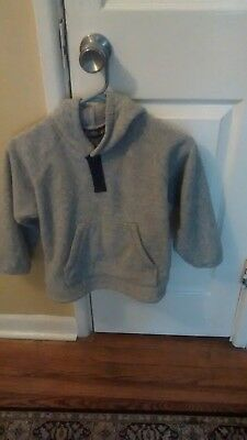 LANDS END KIDS Hoodie Fleece Sz M/ 7