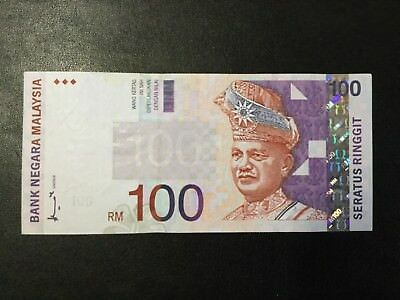 2000'S Malaysia Paper Money - 100 Ringgit Banknote !