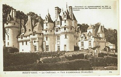 CPA -Carte postale- FRANCE- RIGNY USSE - Son Château - (iv 538)