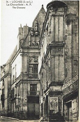 CPA -Carte postale- FRANCE-  LOCHES - La Chancellerie (iv 542)
