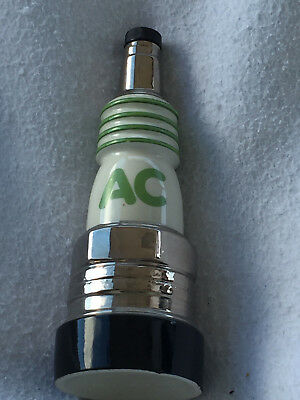 2 Jim Beam Bottles  A/C Spark Plug and Delco Freedom Battery