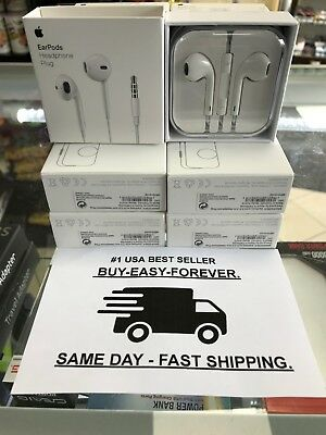 New Gen - Authentic Apple Earpods W/ Remote & Mic For iPhone 6S 6 Plus 5SE 5C 5
